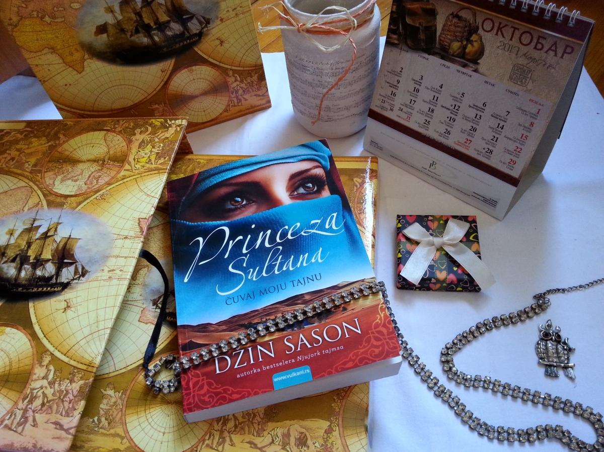 'PRINCEZA SULTANA:Čuvaj moju tajnu' - Džin Sason